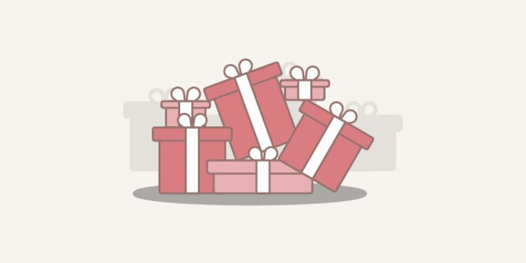 Image of wrapped gifts