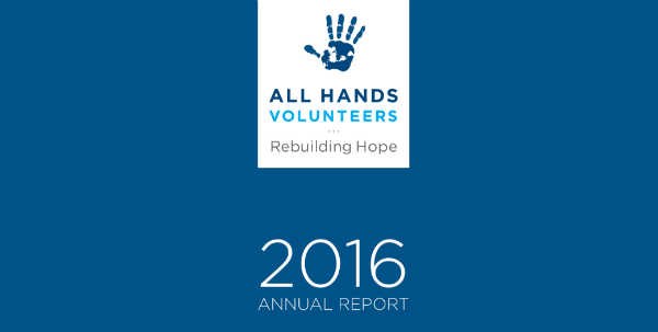 All Hands Annual Report Online