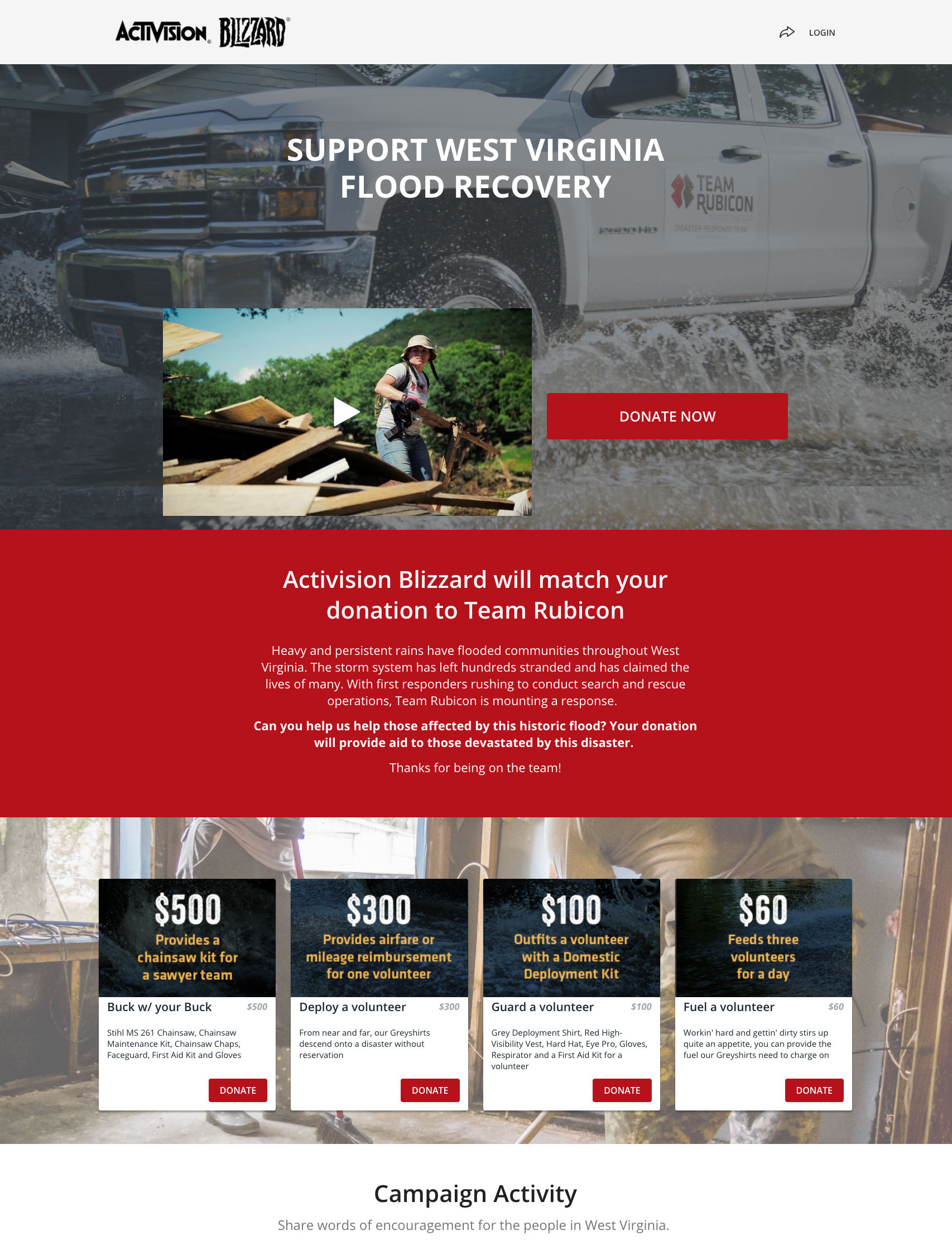 Team Rubicon large nonprofits