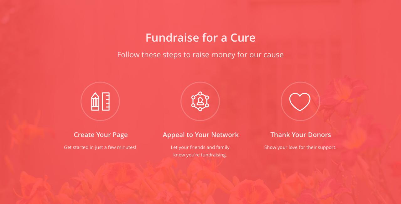 Custom block in a custom fundraising page