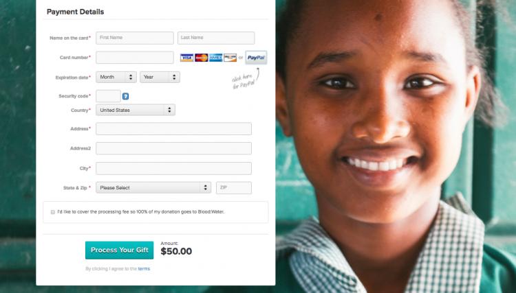 design impact on donations
