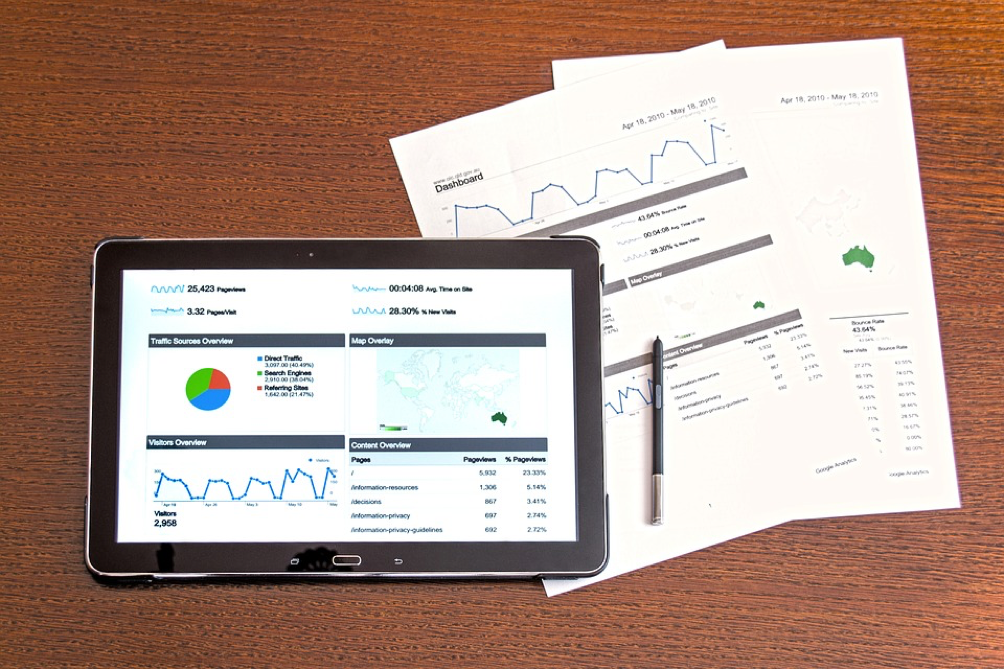 Google Analytics tablet