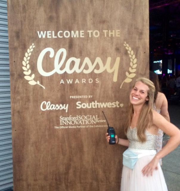 Kimmy at Classy Awards