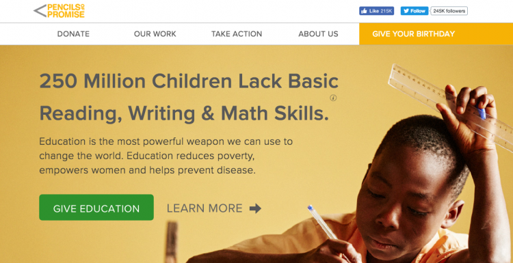 pencils of promise mission
