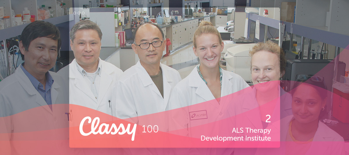 Classy 100 ALS TDI scientists photo