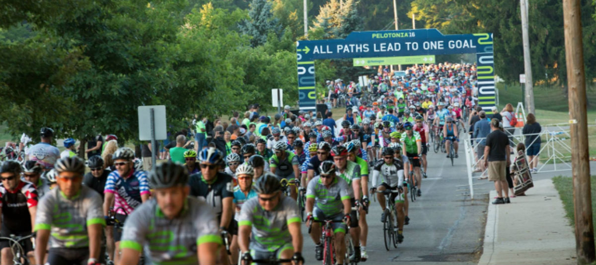 pelotonia cycling event header