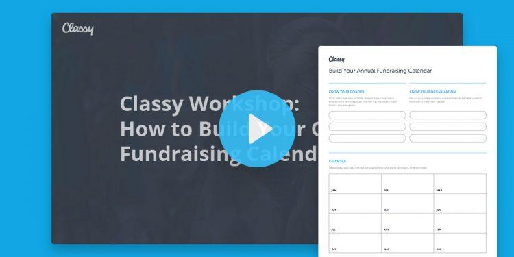 fundraising calendar worksheet