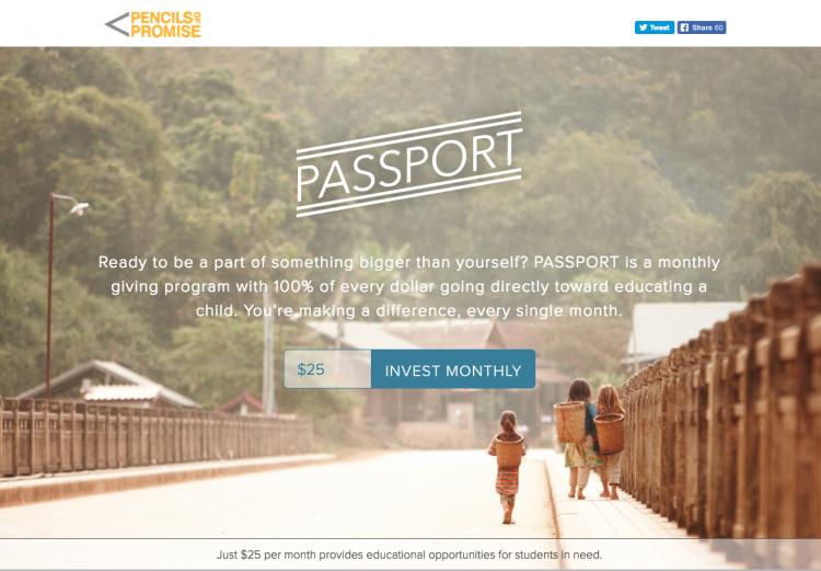 passport campaign PoP