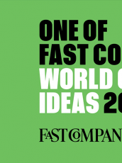 graphic talking about fast company world changing ideas