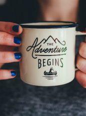 adventure quote mug