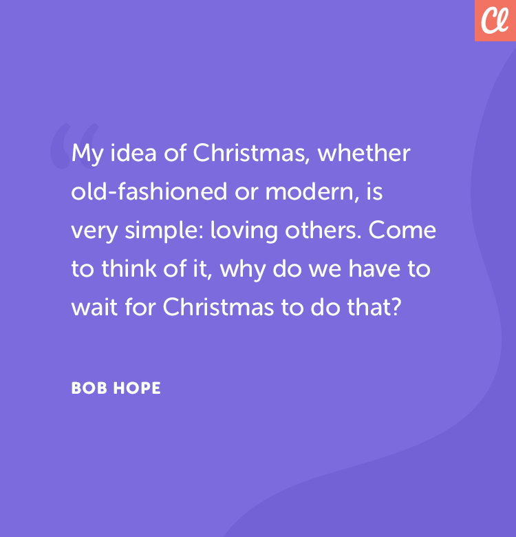 Christmas quote bob hope