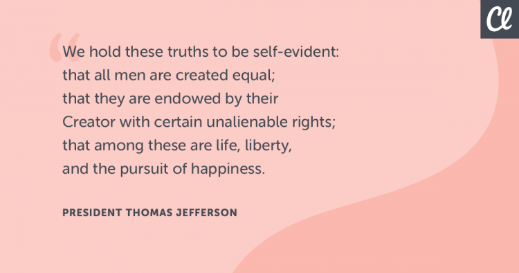 Thomas Jefferson quote about freedom