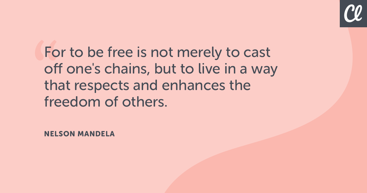 14 Quotes About Freedom to Invigorate Your Work | Classy
