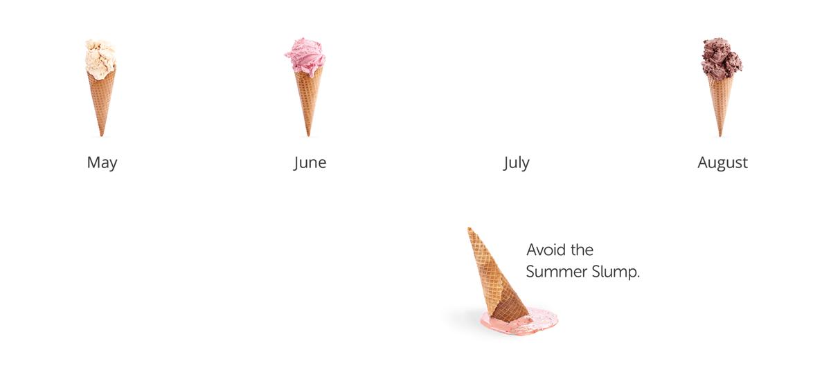 Summer slump