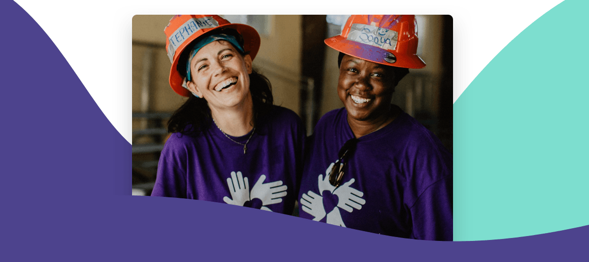 Image of nonprofit volunteers