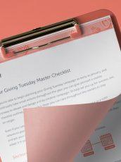 Giving Tuesday Checklist