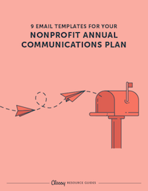 email templates for annual nonprofit communications