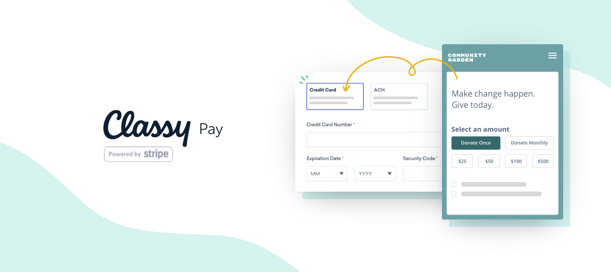 classy pay powered by stripe