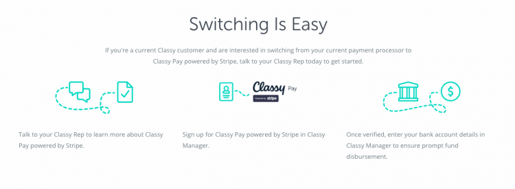 switch to classy pay
