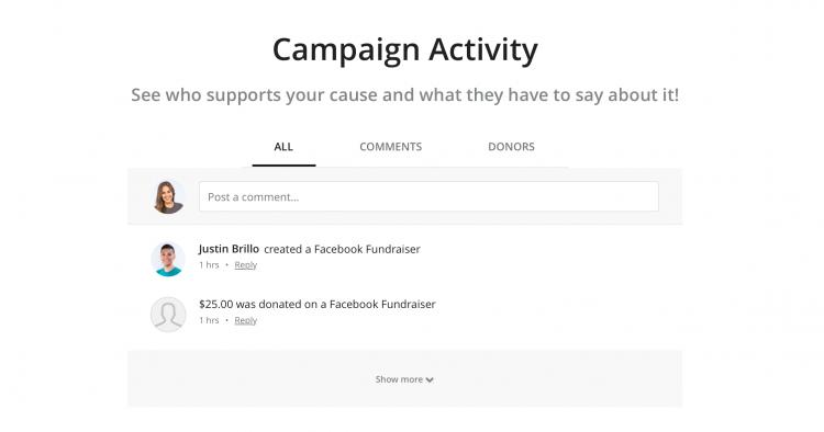 C4FB campaign activity