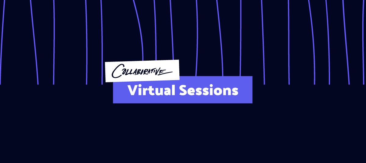 virtual collaborative logo header image