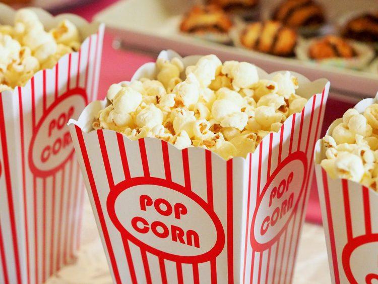 popcorn at a movie night nonprofit fundraising event