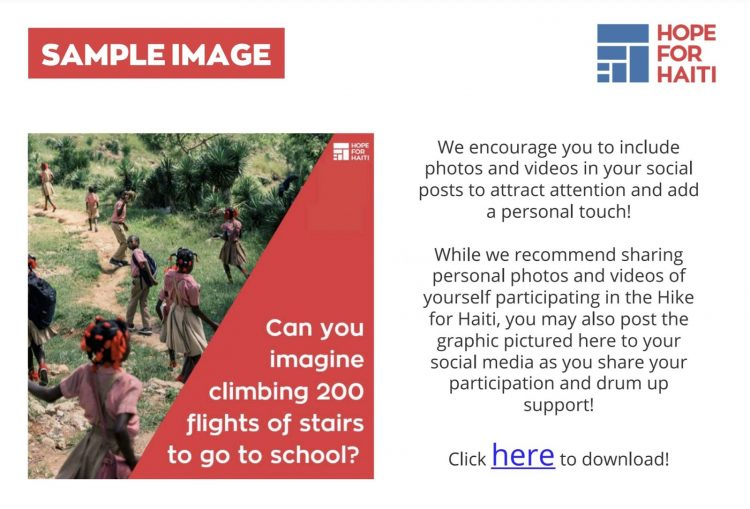 image examples in fundraisers toolkit