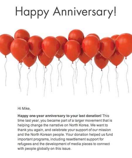 happy anniversary email messages