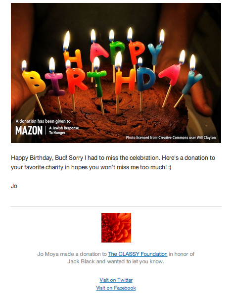 Use Ecards For A More Personal Donation Experience Classy