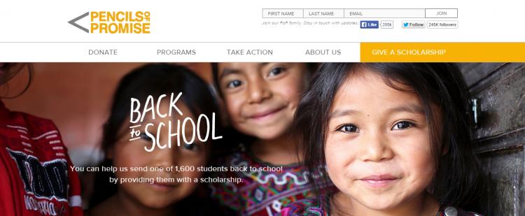 pencils homepage