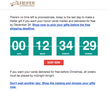 Heifer ticker