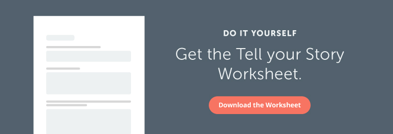 Tell Your Story Worksheet
