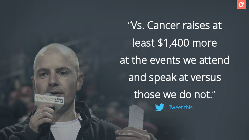 Vs. Cancer startup nonprofit
