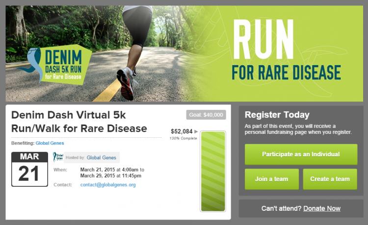 charity run fundraising