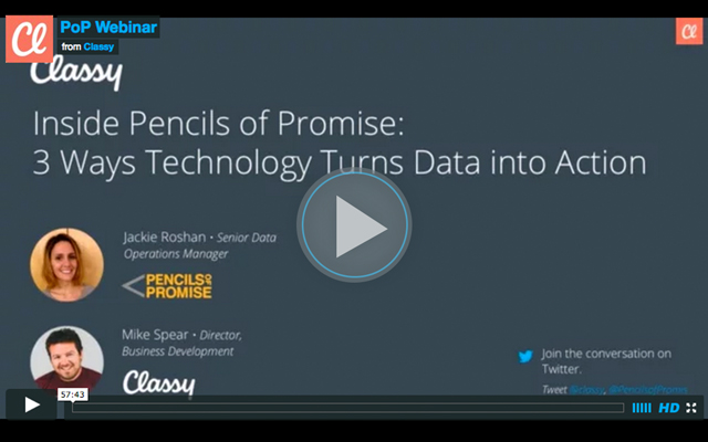 Pencils of Promise Webinar Nonprofit CRM