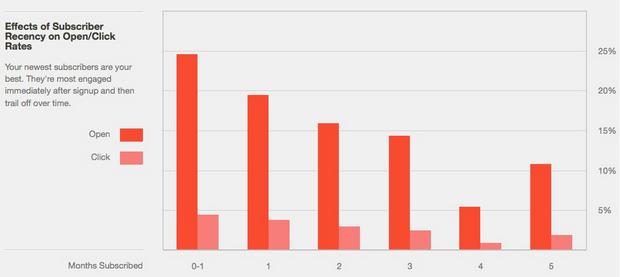 MailChimp Email Marketing Statistics