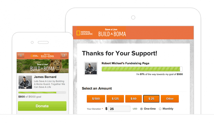 Nonprofit Marketing Responsive Donation Pages
