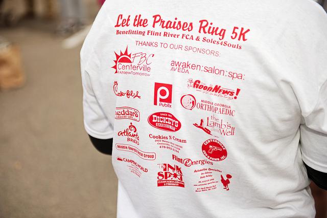 Fundraising sponsors