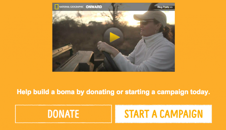 Help Build a Boma by Donating or Starting a Fundraising Campaign Today