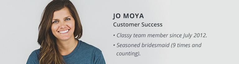 Jo Moya classy core value