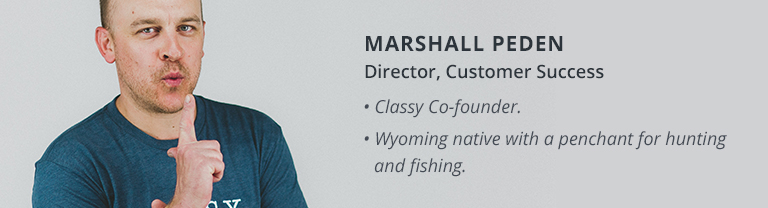 marshall peden customer success core value