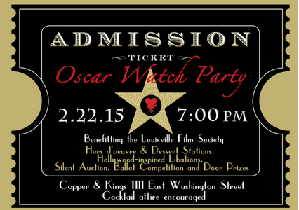 Louisville Film Society Ticket to Oscar Watch Party