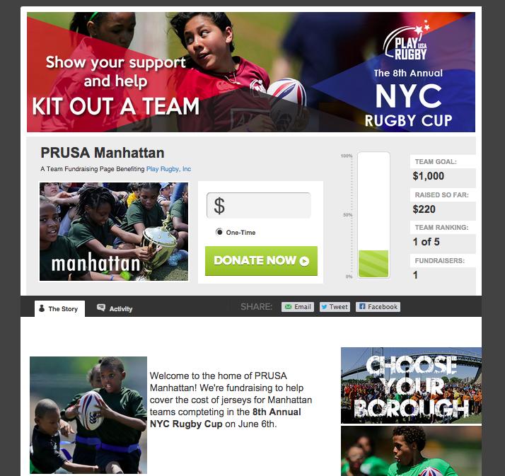 Play Rugby USA Manhattan Classy Custom Sidebar