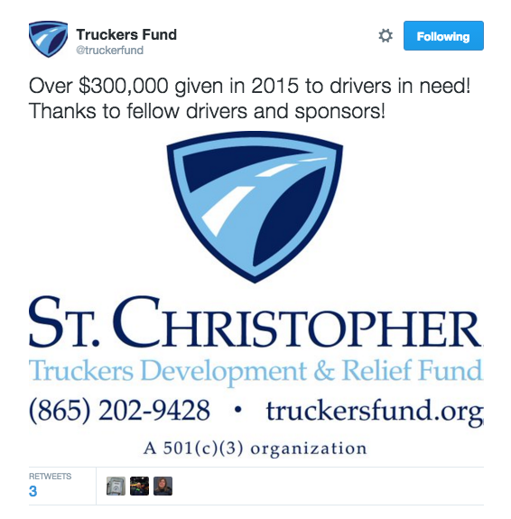 St. Christopher Trucker Fund