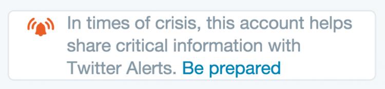 Twitter Alert