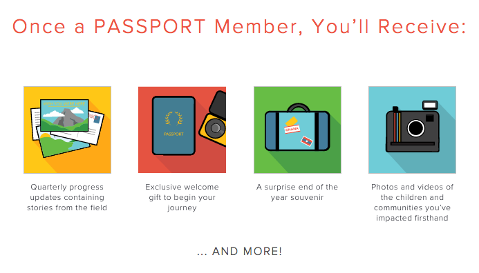 Benefits Passport members receive.
