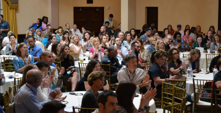 The first session at the 2014 Collaborative. The room was alive!