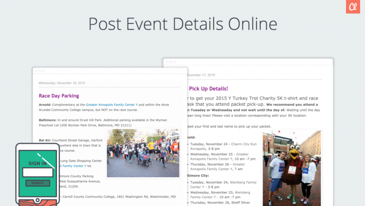 5K run/walk webinar updates