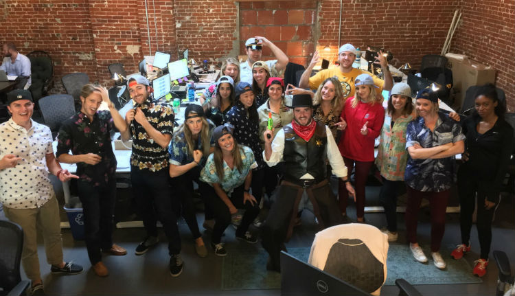 AC sales team halloween