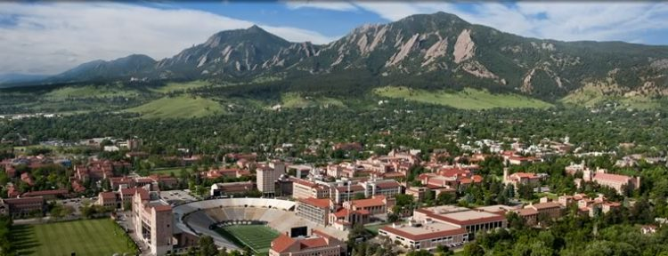 University of Colorado at Boulder, which has social entrepreneurship programs.